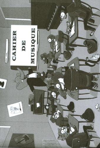 Librairie, papeterie, dvd... ROBERT MARTIN CAHIER DE MUSIQUE PETIT A5 Cahier de musique