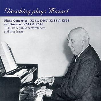 Gieseking plays Mozart (1944-1955)
