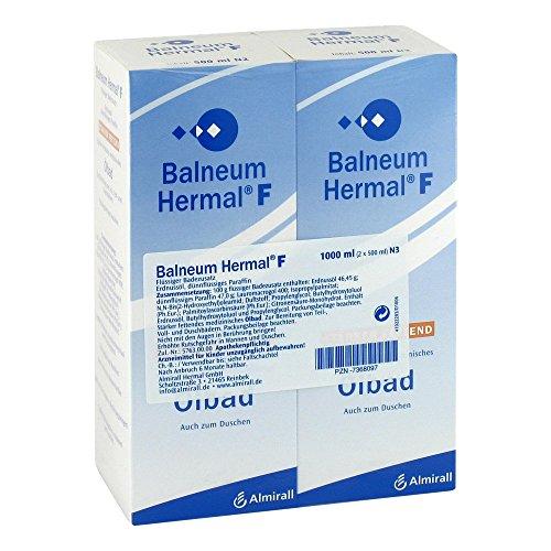 Balneum Hermal F flüssige 2X500 ml