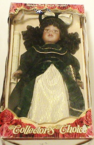 Collector's Choice Limited Edition Genuine Fine Bisque Porcelain Blond Doll 17' Tall