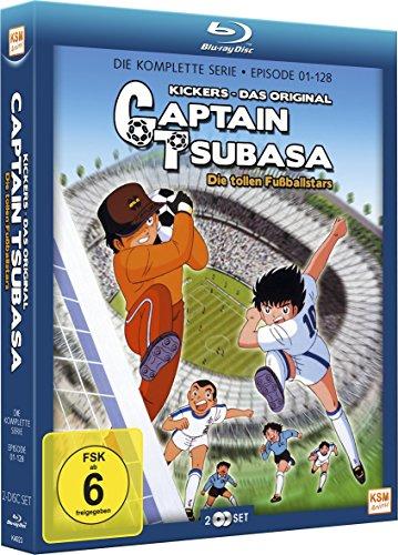 Captain Tsubasa - Die tollen Fußballstars (Limited Gesamtedition) (Episode 01-128) (2 Disc Set) [Blu-ray]