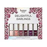 natural nail polish set of eight by Butter