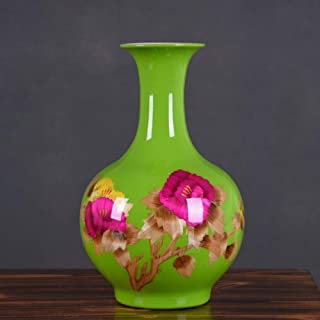Vases Ceramic Home Decoration Table Art Collection Ornament Glazing Craft Heavy Hydroponics Plant Flower,decoration