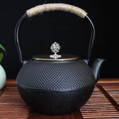 Tetera de 850 ml Cuidado de la Salud Hierro Fundido de Cobre Caldera de té de la Cubierta del Hierro fácil de Usar / A3 (Color: A1, Tamaño: 1200 ml), Tamaño: 1200 ml, Color: A1