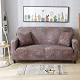 WXQY Funda de sofá elástica para Sala de Estar Moderna Funda de sofá de Esquina Modular Funda de sofá Funda de protección para Silla Funda de sofá A9 2 plazas