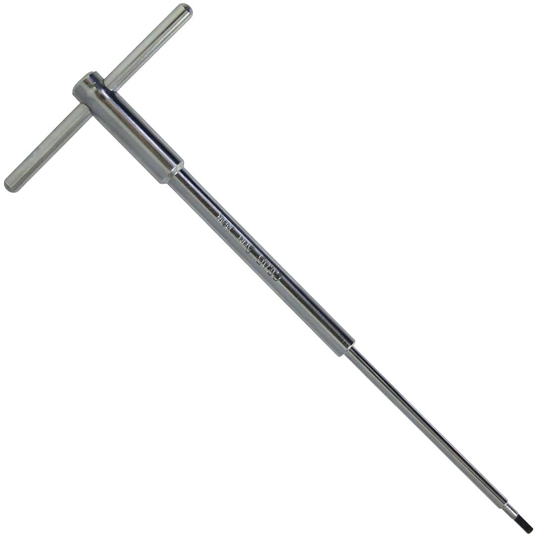 バイオレット等しい実質的CRAB TOOL 強力T型六角棒レンチ T-3 3.0mm