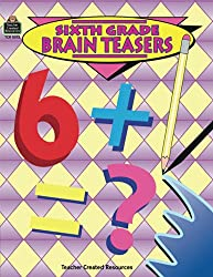 6th Grade Brain Teasers Book