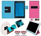 Hülle für Dell Venue 7 Tasche Cover Hülle Bumper   in Pink   Testsieger