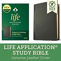 Life Application Study Bible: New Living Translation, Black, Genuine Leather