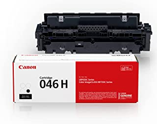 Canon Genuine Toner, Cartridge 046 Black, High Capacity (1254C001), 1 Pack, for Canon Color imageCLASS MF735Cdw, MF733Cdw,...