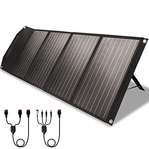 ROCKPALS RP082 100w Foldable Solar Panel Charger with Kickstand, Parallel Cable, QC 3.0 and USB-C $155.49+FSS