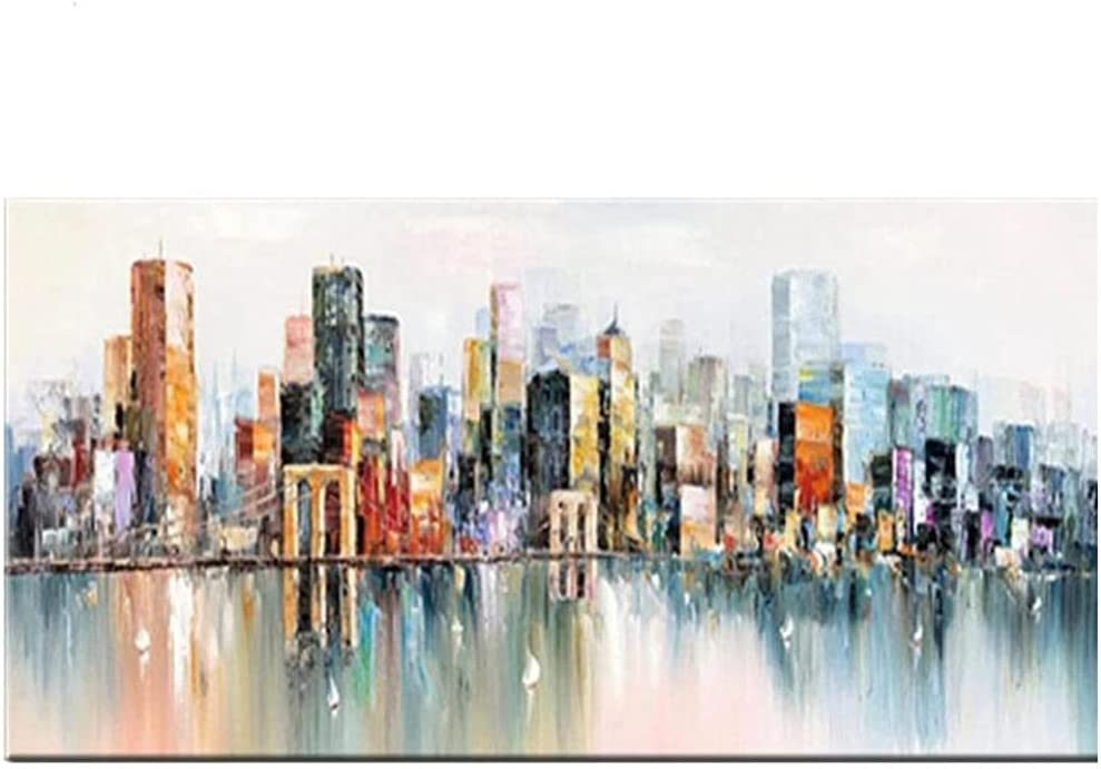 Trust DIY 5D Diamond Indianapolis Mall Painting by Number Abstract Kits V Building City
