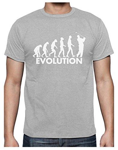 Green Turtle T-Shirts Golf Evolution - Humour pour Golfeur Fêtes des Pères T-Shirt Homme Large...