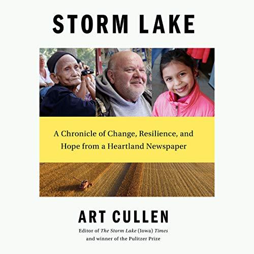 Storm Lake audiobook cover art
