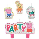 Peppa Pig Birthday Candle Set   Multicolor   Party Favor  