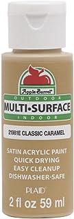 Apple Barrel Multi Surface Acrylic Paint, 2 oz, Classic Caramel 2 Fl Oz