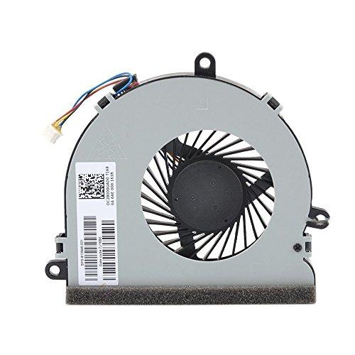 GGZone 813946-001 - Ventilador para refrigeración de la CPU, para HP de la serie 15-ay: 15-ay112cy, 15-ay113cy, 15-ay119tu, 15-ay120tu, 15-ay121nl y 15-ay121tu