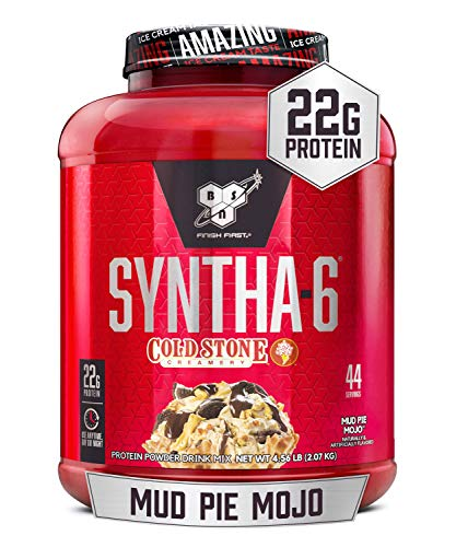 BSN Syntha-6 Cold Stone Creamery 44 Servings Mud Pie Mojo