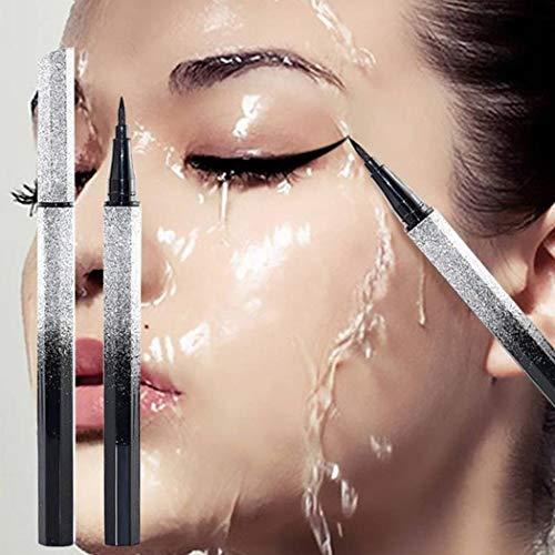 Olodui1 Mujeres Maquillaje Líquido impermeable de larga duración Delineadores