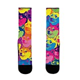 LookHUMAN Pop Art Doge Blanket US Size 7-13 Socks