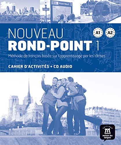 Nouveau Rond-Point 1 - Cahier d'exercices + CD: Noveau Rond Point 1 Cahier d'exercises: Vol. 2 (Fle- Texto Frances)