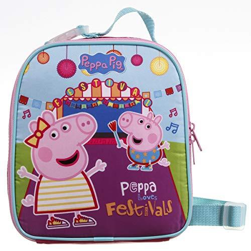 Lancheira Soft Peppa Pig Polinylon, Dermiwil, 37472, Rosa