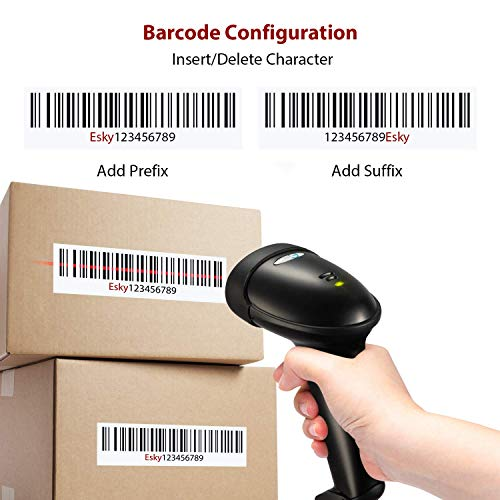 Esky USB Automatic Handheld Barcode Scanner/Reader with Free Adjustable Stand Photo #8
