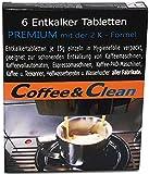 JaPeBi 6 Entkalker-Tabs á 15gr. in Faltschachtel für Kaffeeautomaten, Espressomaschinen, Wasserkocher u. a. Haushaltgeräte