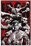 HuGuan Lienzo Y Arte De Pared PóSter Leyendas Mike Tyson para la decoración del Comedor Pintura Pared Y Estampados Cuadros 19.7'x27.6'(50x70cm) Sin Marco