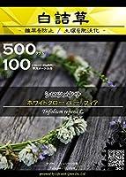 白詰草 種子 ホワイトクローバー フィア 500g(約100平方メートル分) (仕様 : アルミバッグ) [Life with Green]