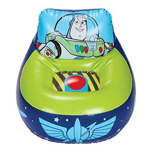 Silla inflable de juego para niños Disney Toy Story 288TOY 4, azul y verde