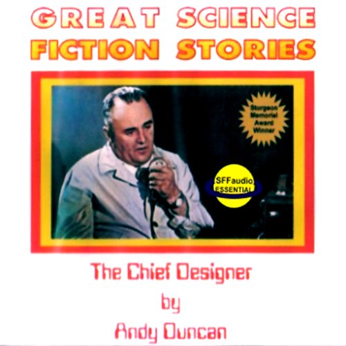 The Chief Designer audiobook cover art