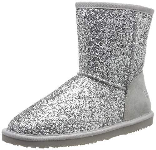 Dockers by Gerli Unisex 45SV704 Mokassin Boots, Silber (Silber 550), 40 EU
