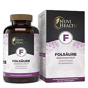 Vitamin B9 Wirkung Nuvi Health Quatrofolic