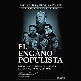 El engaño populista audiobook cover art