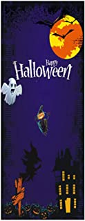 Jgashf - Adhesivo decorativo de Halloween, divertido, creativo, para cocina, puerta, espejo, nevera, dormitorio, salón