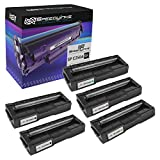 Speedy Inks Compatible Toner Cartridge Replacement for Ricoh SP C250A (2 Black, 1 Cyan, 1 Magenta, 1 Yellow, 5-Pack)