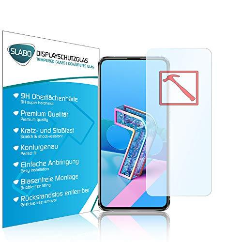 Slabo 3 x Lámina de Vidrio Premium para ASUS Zenfone 7 | ASUS Zenfone 7 Pro Protectora Protector de Pantalla Templado Tempered Glass Claro dureza 9H