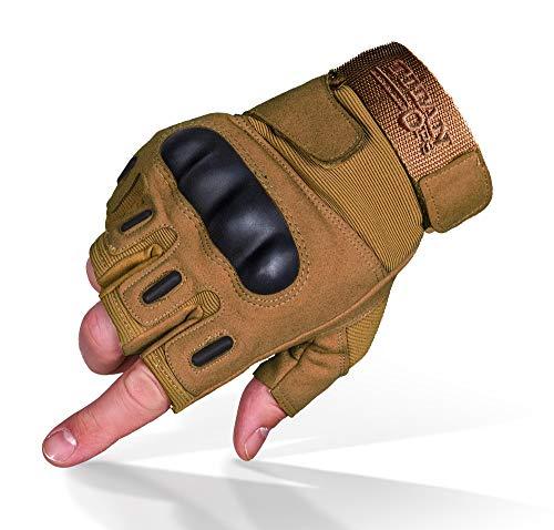 best fingerless motorcycle gloves