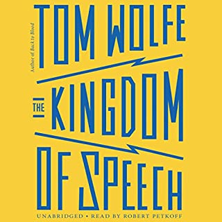 The Kingdom of Speech audiobook cover art