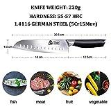 Zoom IMG-2 ddf iohef coltello da cucina