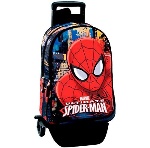 Perona 54296 Spider Man zaino della scuola, 43 cm, multicolore