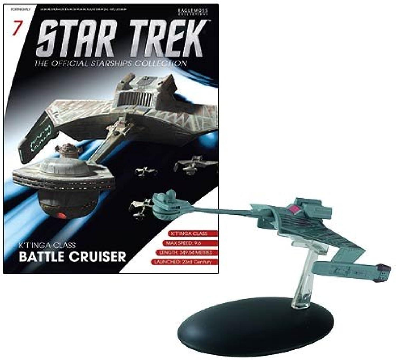Star Trek Starships Klingon K't'inga Battle Cruiser Vehicle by Eaglemoss Publications