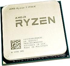 AMD Ryzen 7 1700X 3.4 GHz Eight-Core OEM CPU YD170XBCM88AE Socket AM4