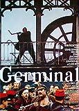 Germinal - Gérard Depardieu - Miou-Miou - Filmposter