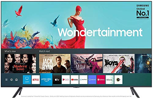 Samsung 125 cm (50 Inches) Wondertainment Series Ultra HD LED Smart TV UA50TUE60AKXXL (Titan Gray) (2020 model)