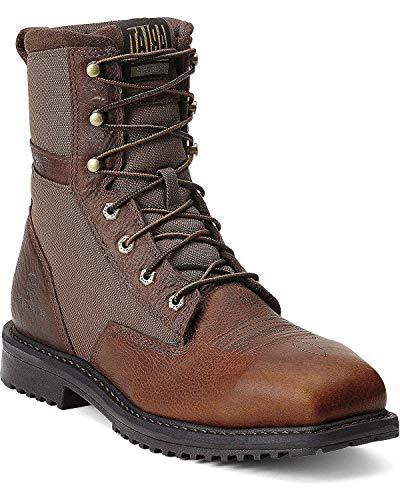 ARIAT Men's Rigtek 8' Wide Square Toe Composite Toe Work Boot Brown