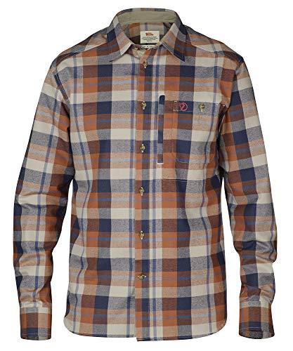 FJÄLLRÄVEN Fjällglim Shirt M T-Shirt à Manches Longues Homme Autumn Leaf FR: M (Taille Fabricant: M)