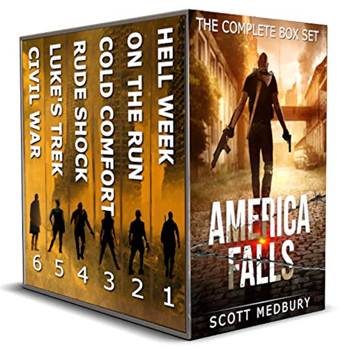 America Falls: The Complete Box Set 1-6 by [Scott Medbury]