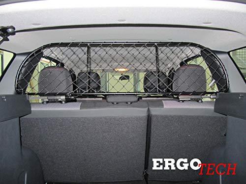 ERGOTECH Trennnetz Trenngitter Hundenetz Hundegitter für Dacia Duster BJ 2009-2017